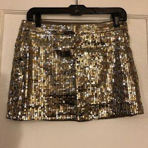 A&F Sequin Mini Skirt